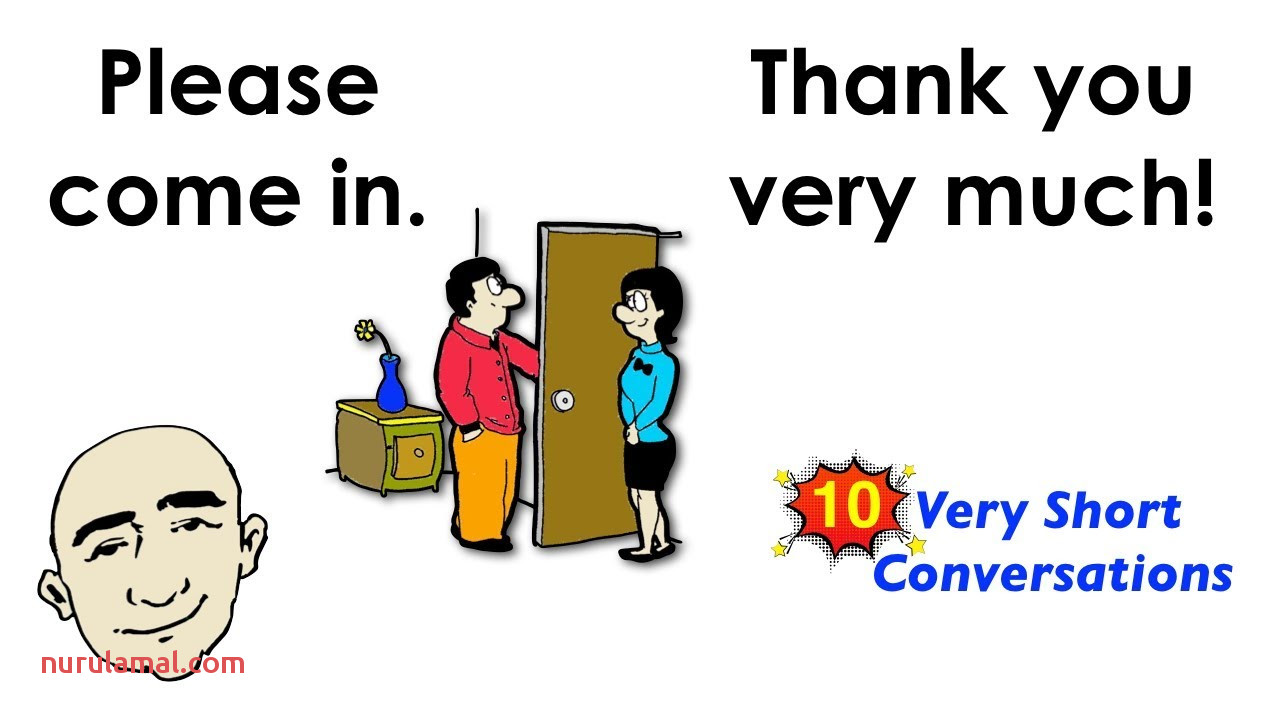 10 Very Short Conversations Set 1 Easy English Conversation Practice Esl