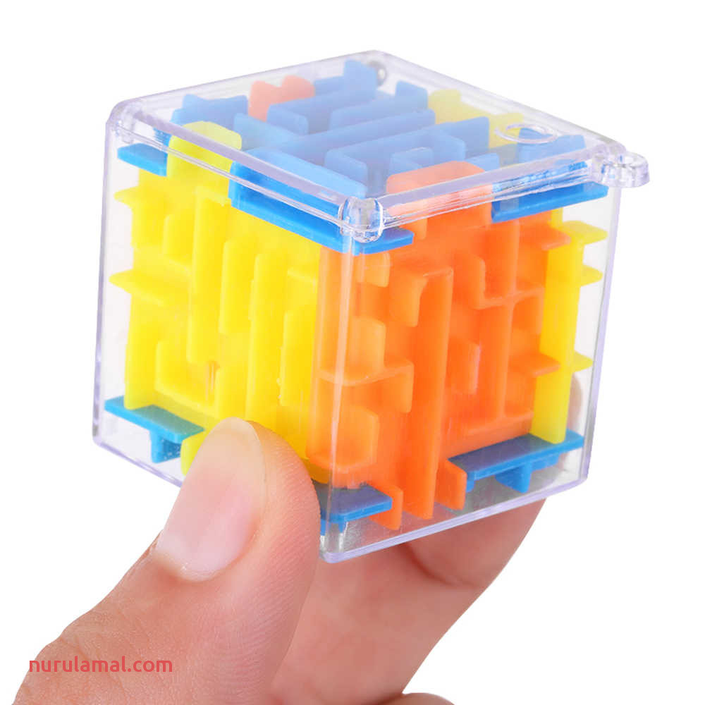 1pc 3d Magic Cube Magical Maze Labyrinth Rolling toys Fro Kid Children Puzzle Game Puzzle Maze Ball Funny Christmas Gift