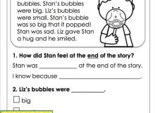 1st Grade Worksheet Reading to Educations 1st Grade