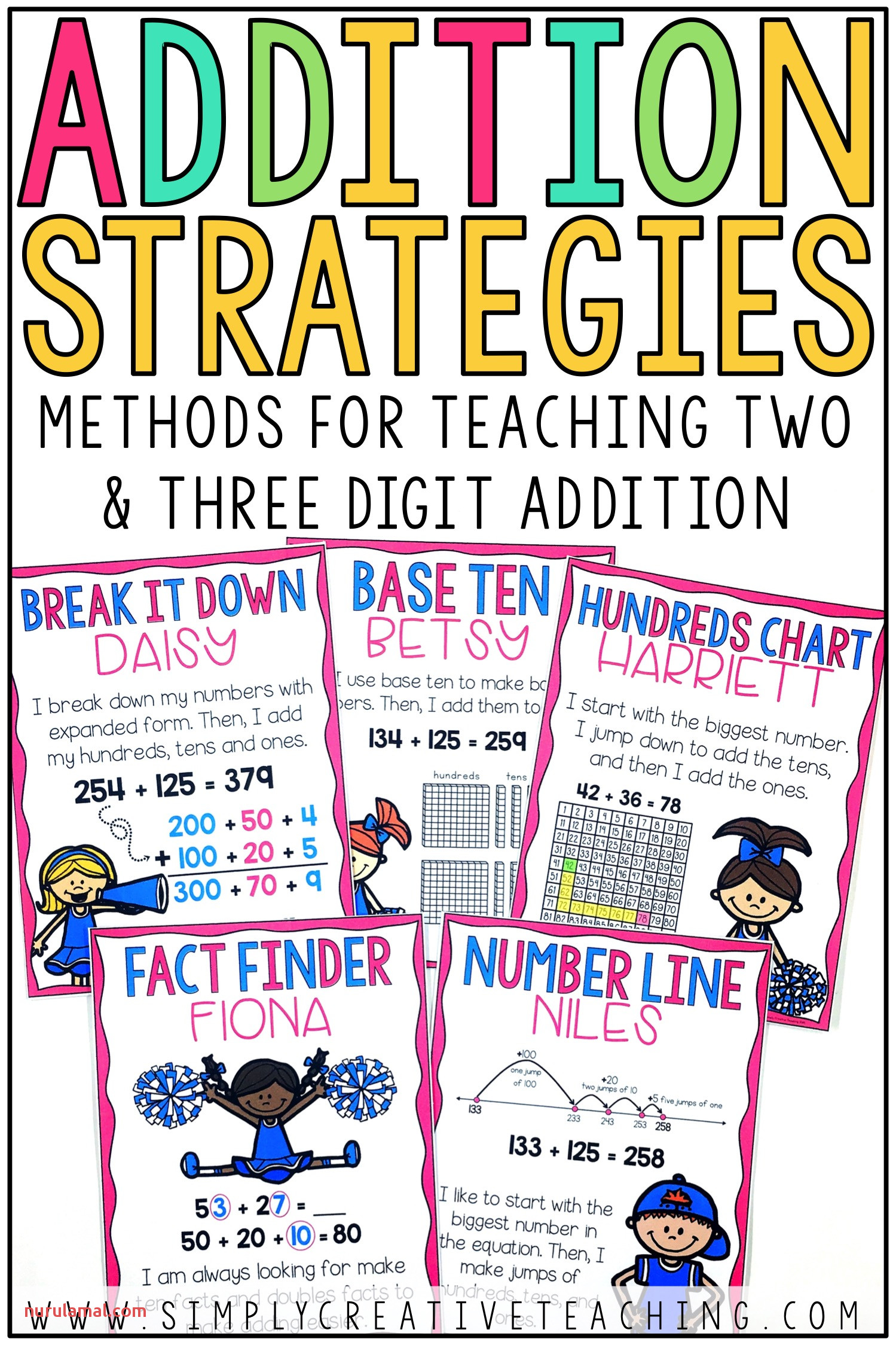 2 3 Digit Addition Strategies Simply Creative Teaching