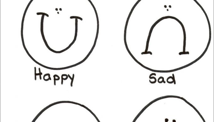 20 Elegant S Emotions Coloring Page