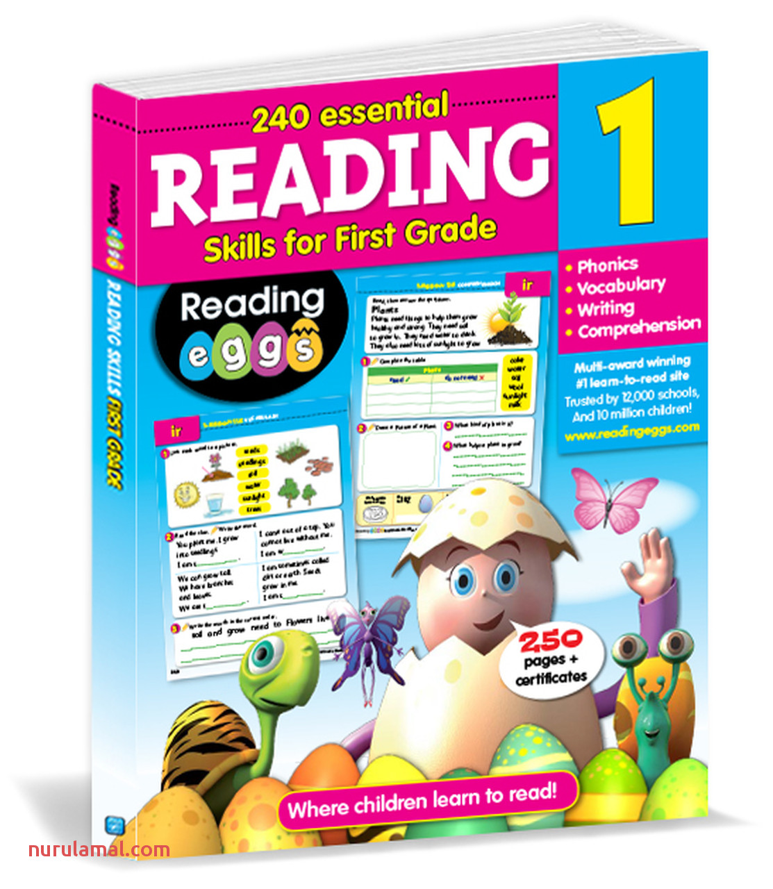 200 Essential Reading Skills for First Grade