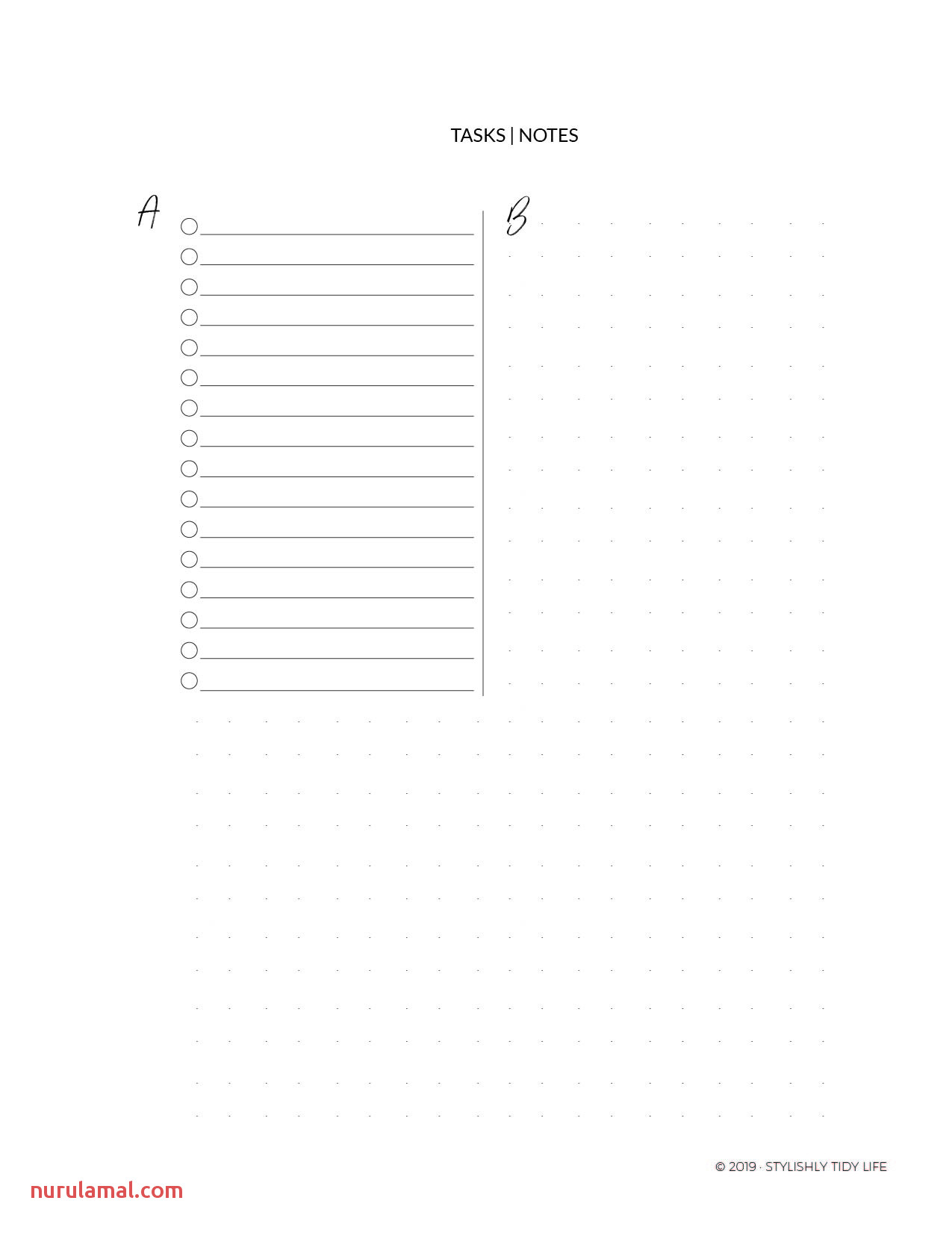 2019 Planner Curate Your Monthly Weekly and Daily Life