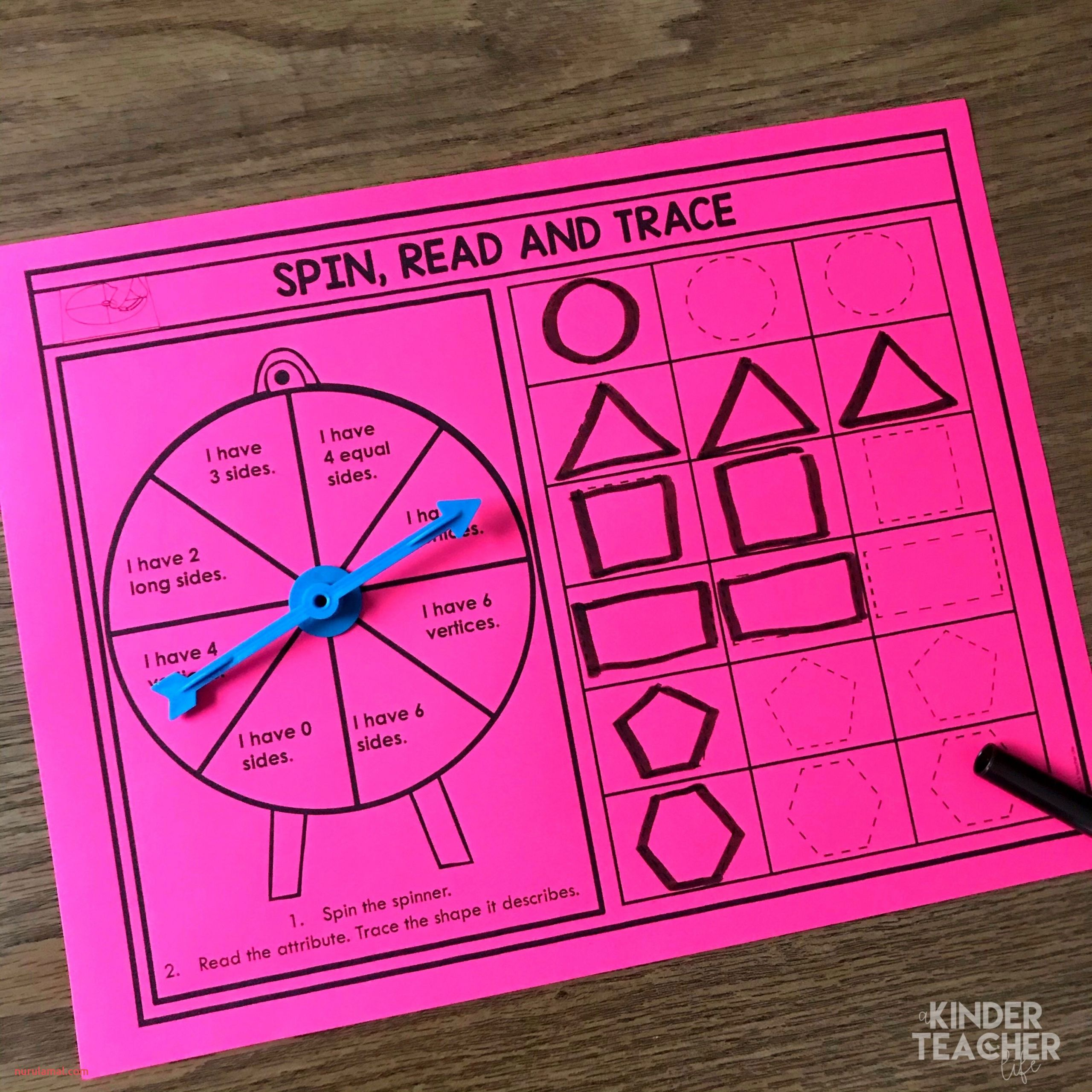 spin read and trace 2d 3d shapes