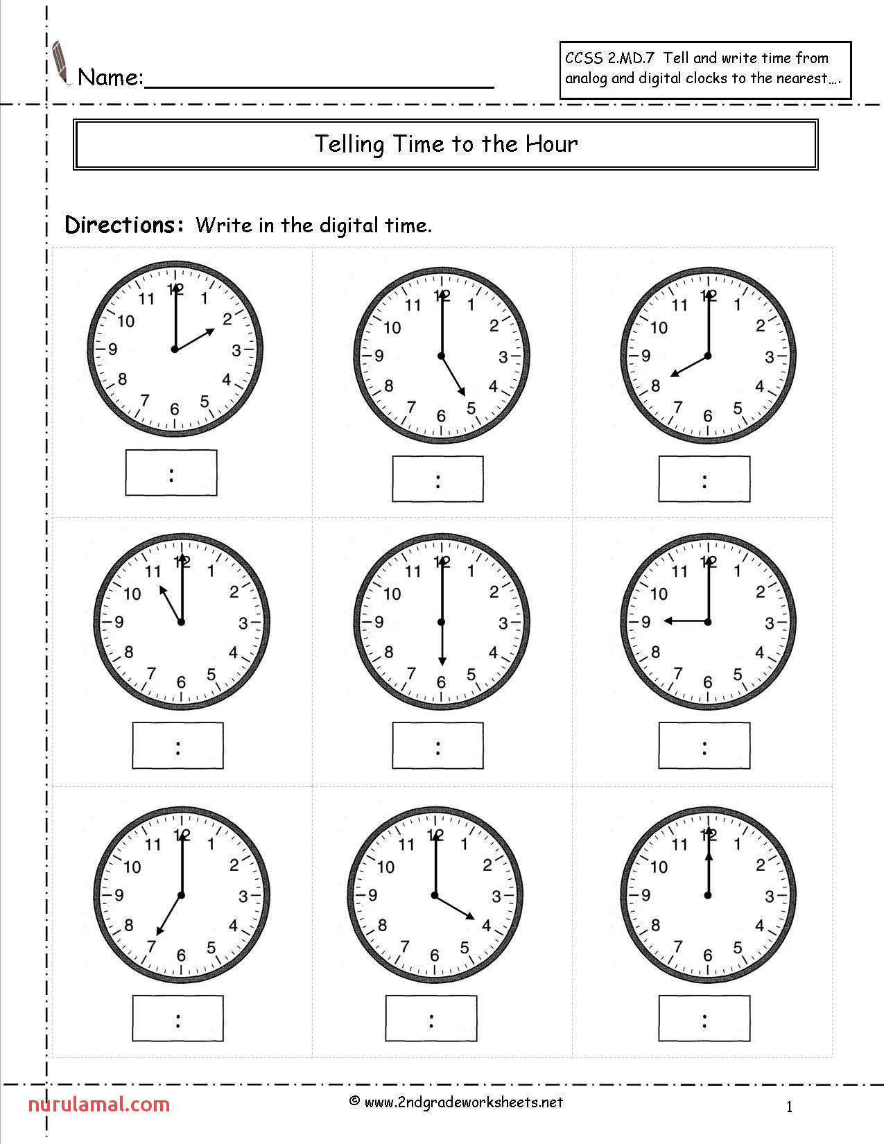 2nd Grade Math Worksheets Color by Number Middle School
