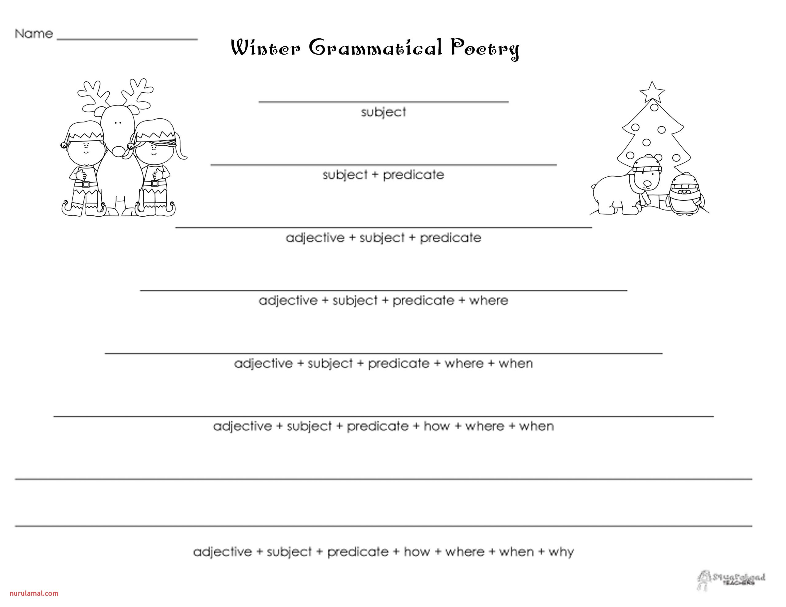 grammatical poetry winter