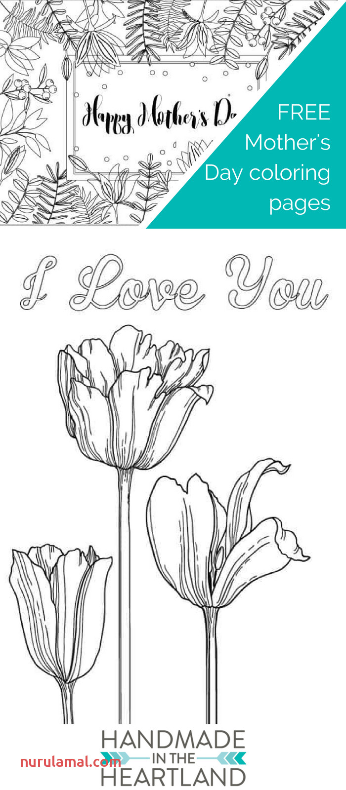 3 Mother S Day Coloring Pages