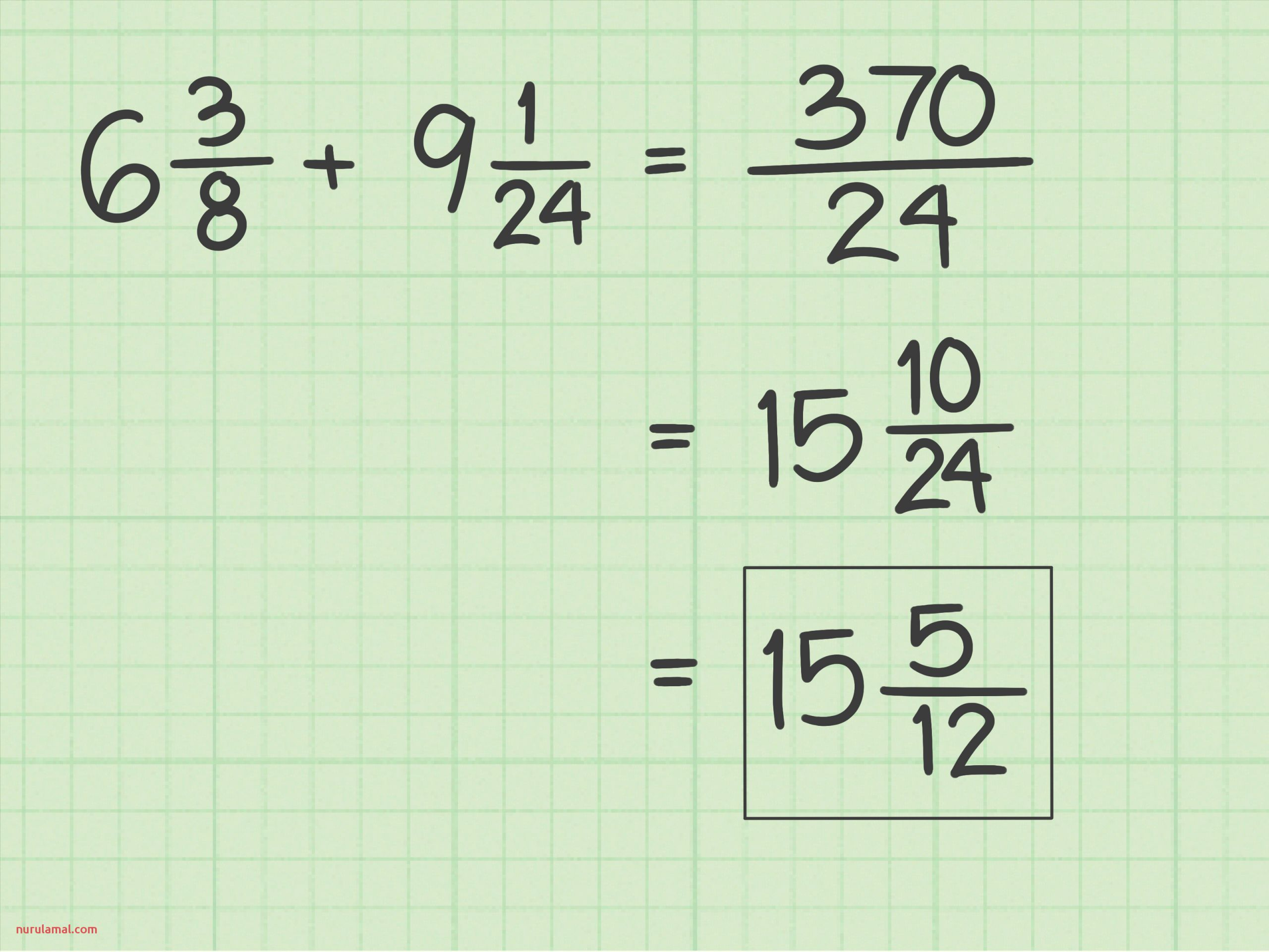 3 Ways to Add Fractions with Unlike Denominators Wikihow