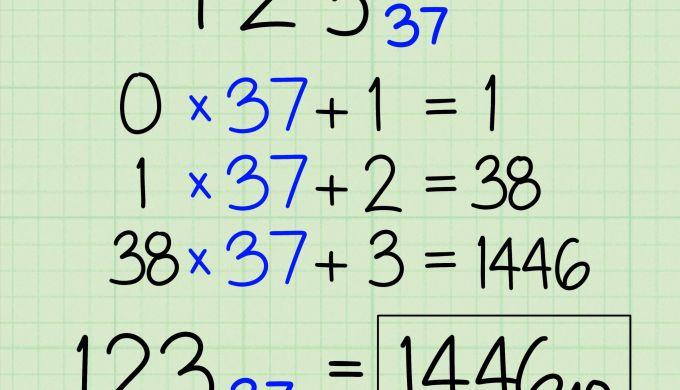 3 Ways to Convert From Binary to Decimal Wikihow