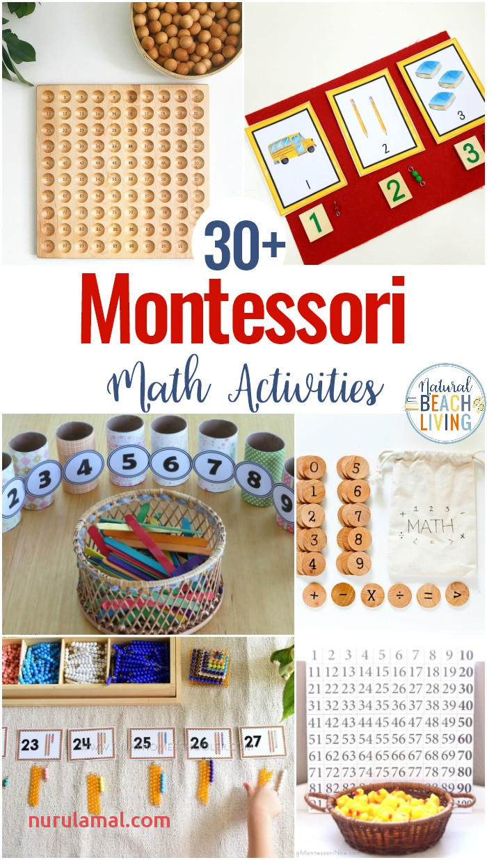 30 Montessori Math Activities for Preschool and