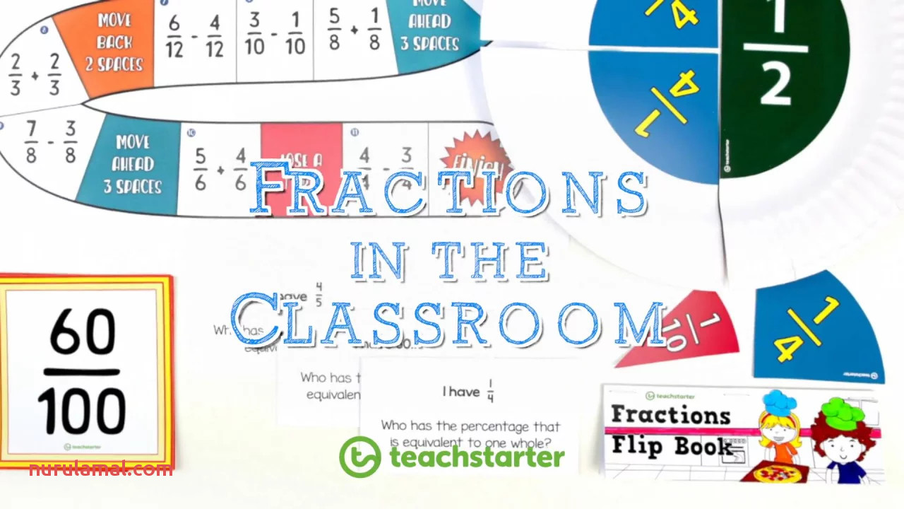 31 Activities and Resources for Teaching Fractions In the Classroom