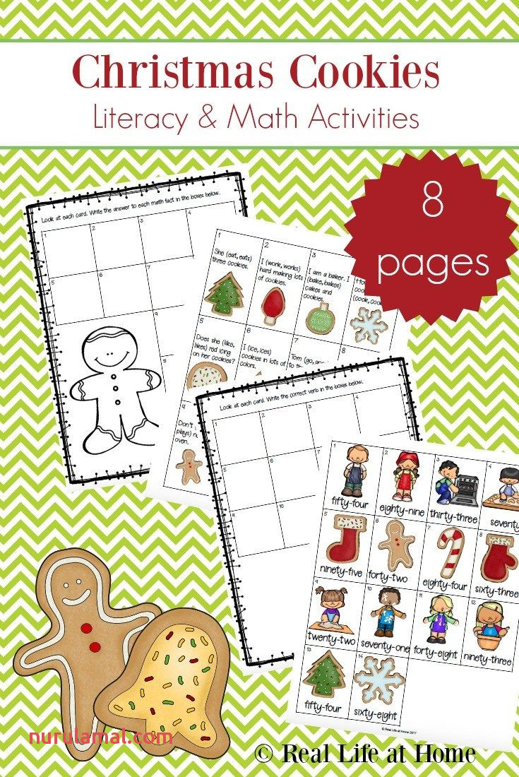 4 Free Christmas Printable Activities for Elementary