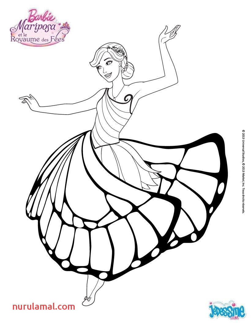 4 Full Coloring Pages Kids 10 Barbie Outline 0d In 2019