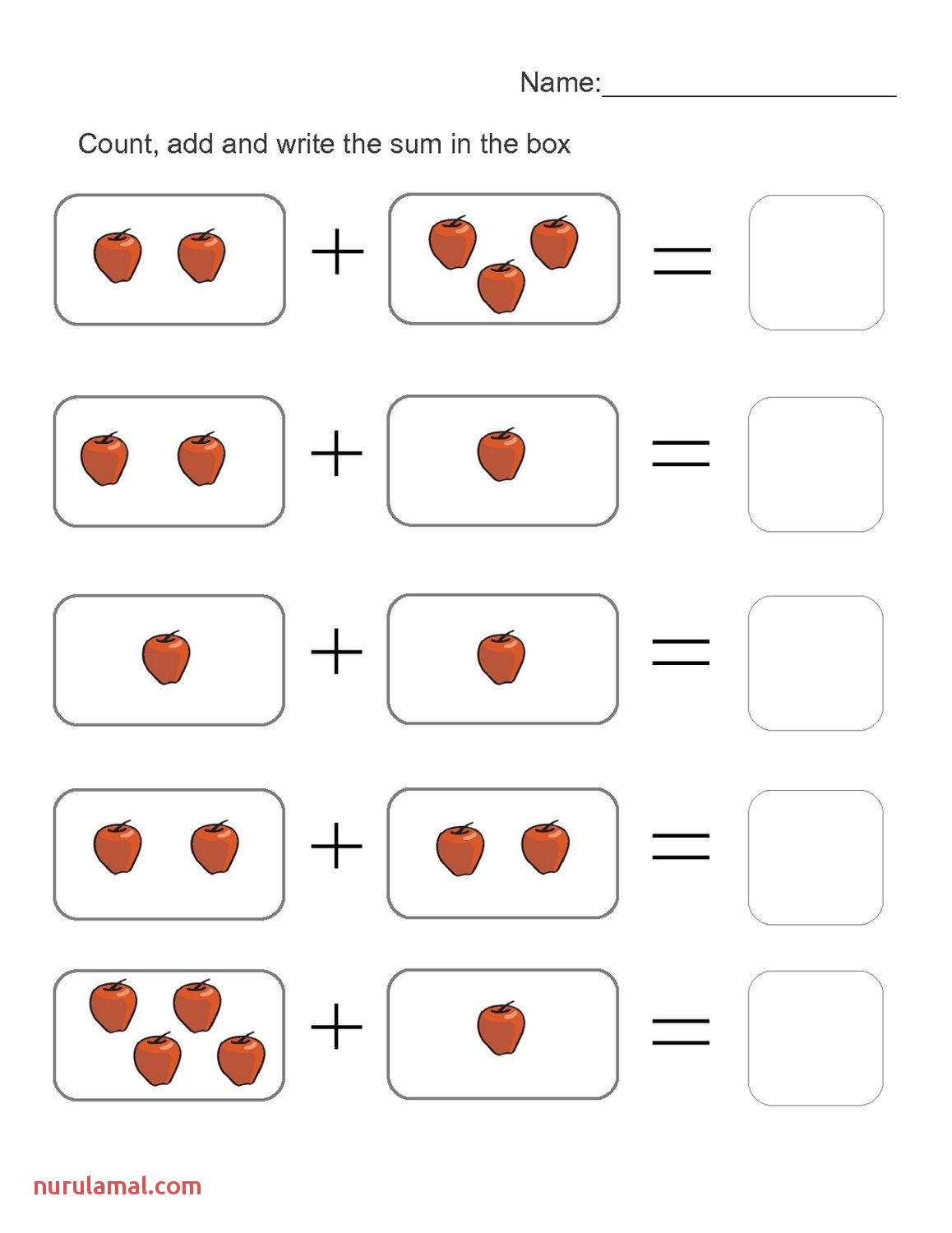 4 Year Old Worksheets Kids Learning Activity