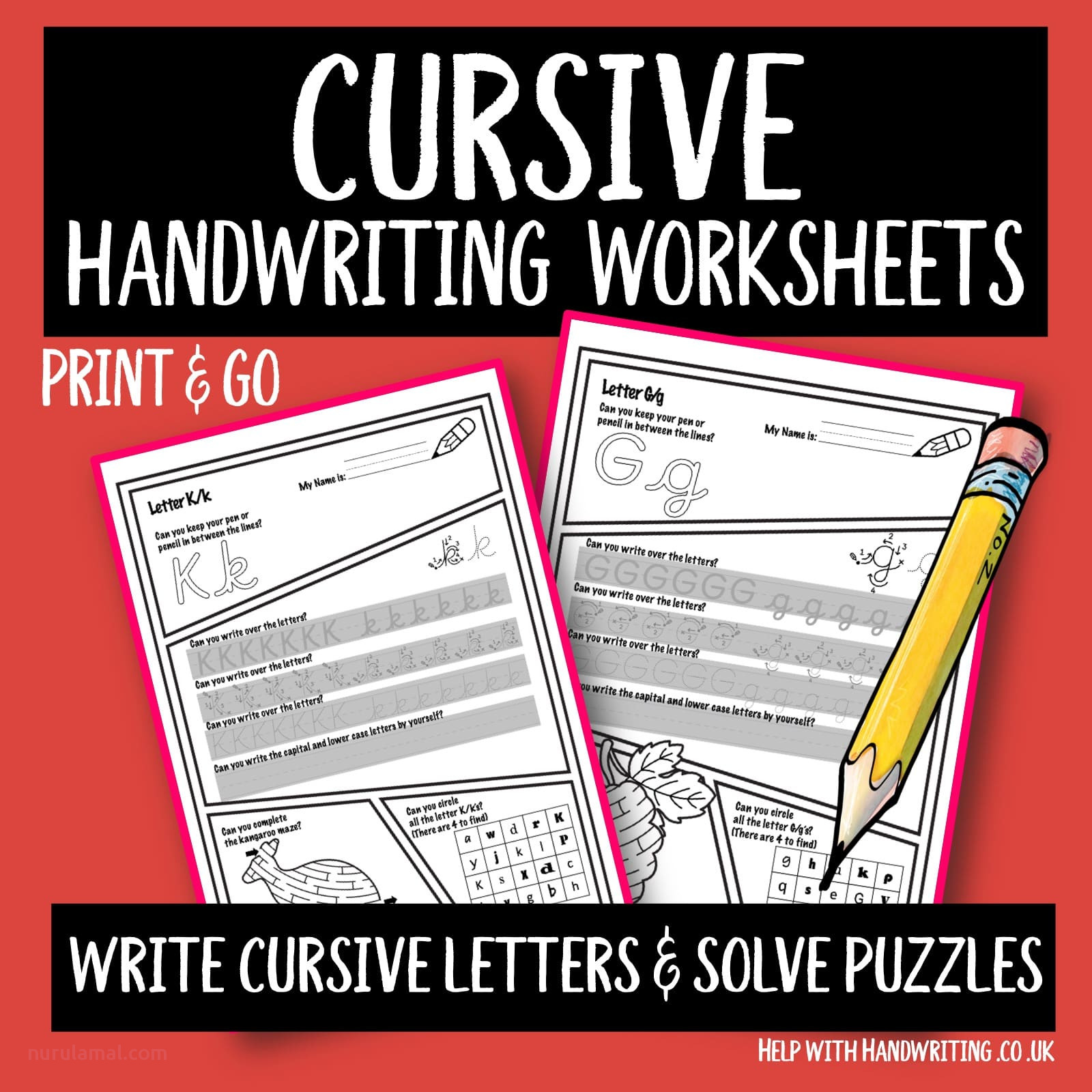 Write letters solve puzzles Cover s min