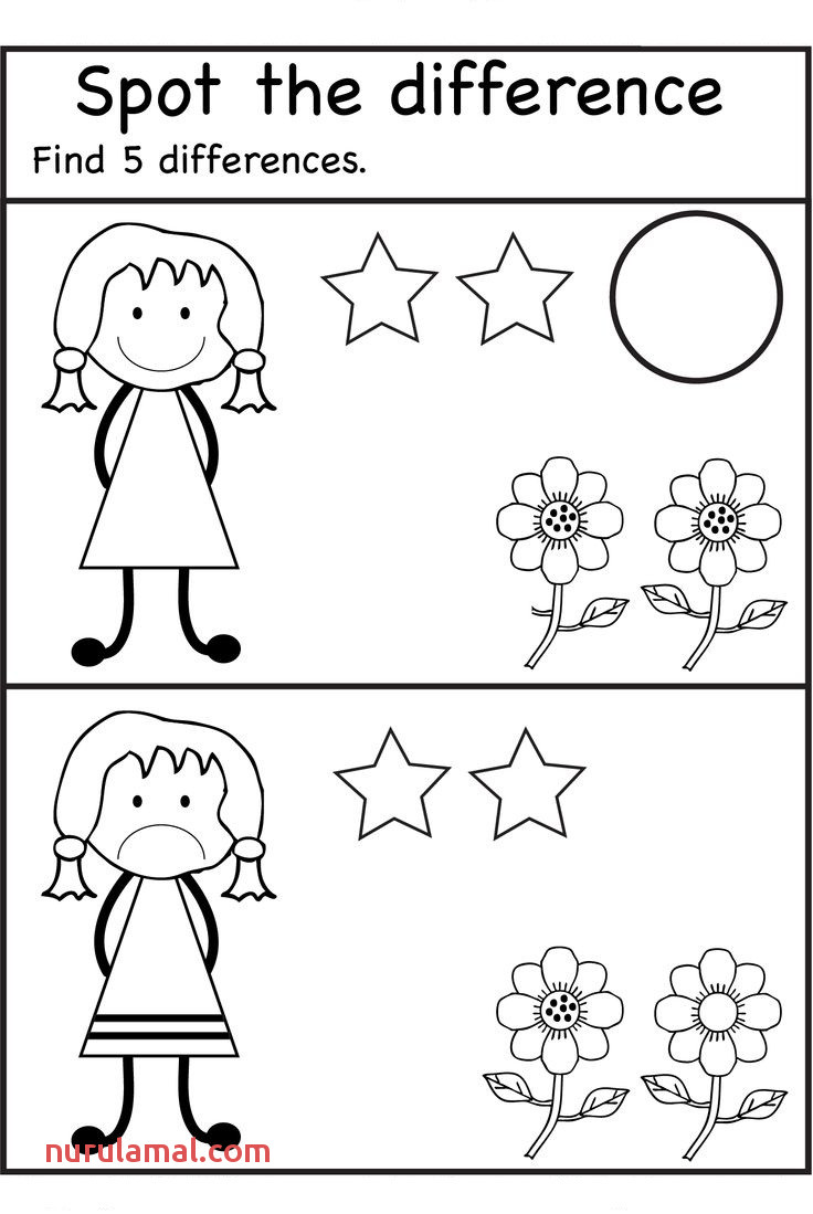 Activity Worksheets for Kids Coloring Pages Preschool First