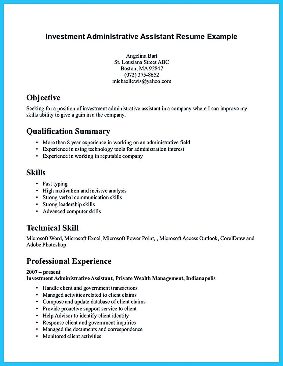 Admin Assistant Resume Sample Sarahepps.com
