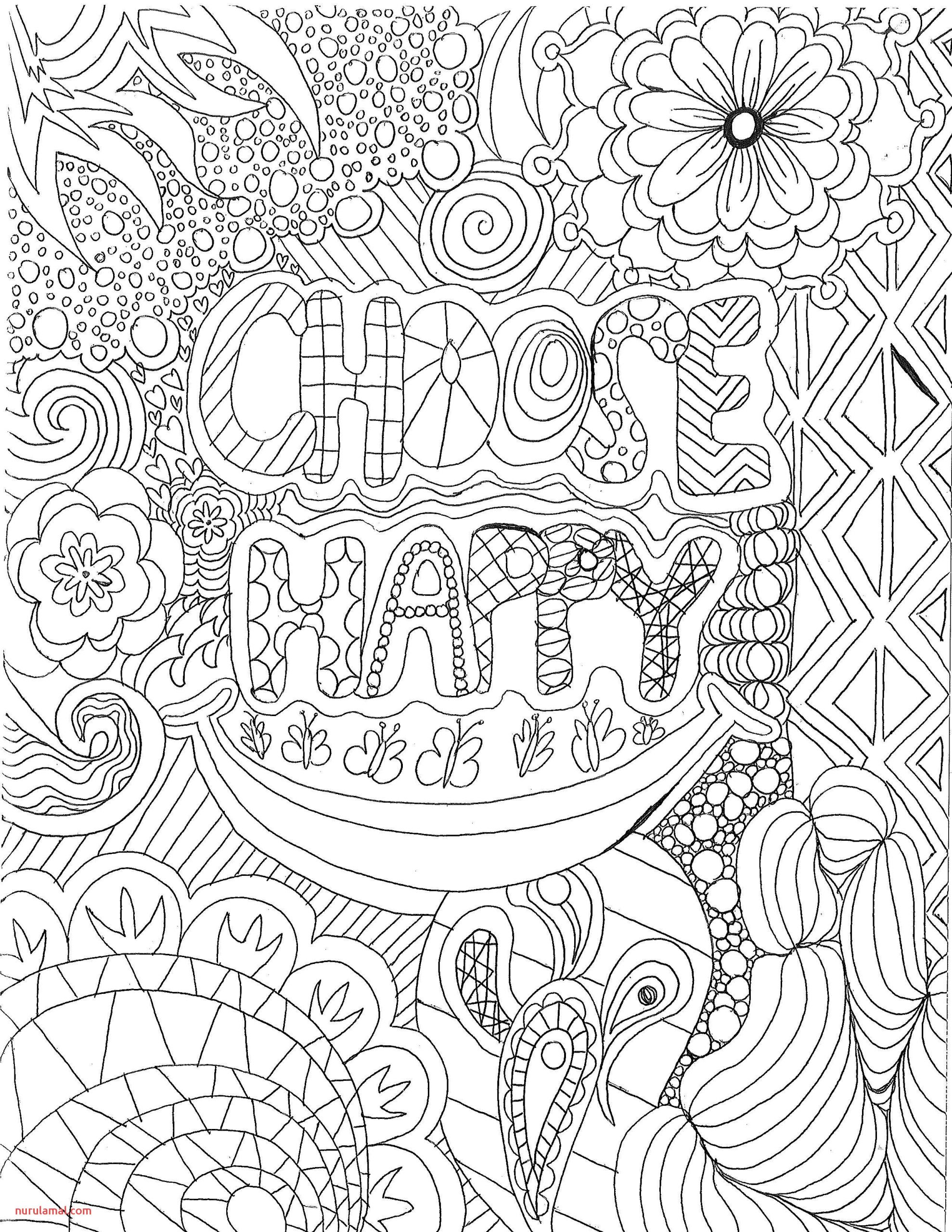 Adult Coloring Page by Luther Student Erin Runquist