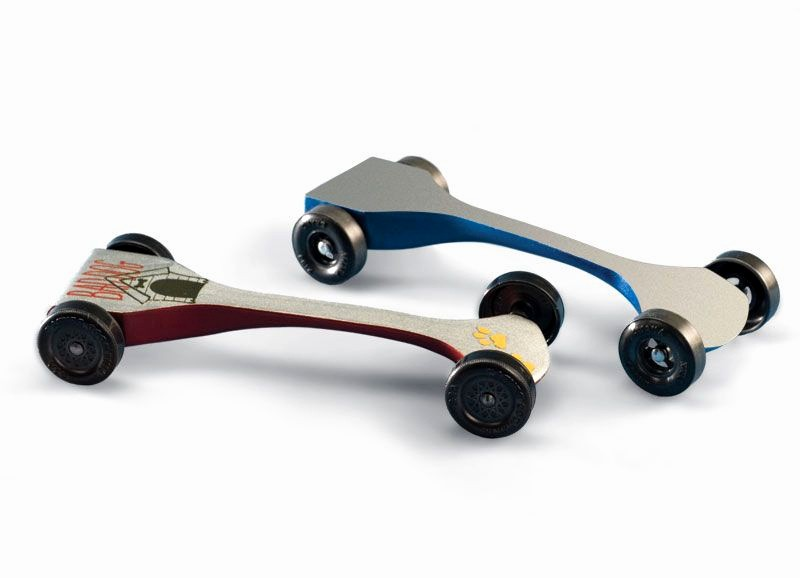 Aerodynamic Pinewood Derby Car Template Inspirational Free