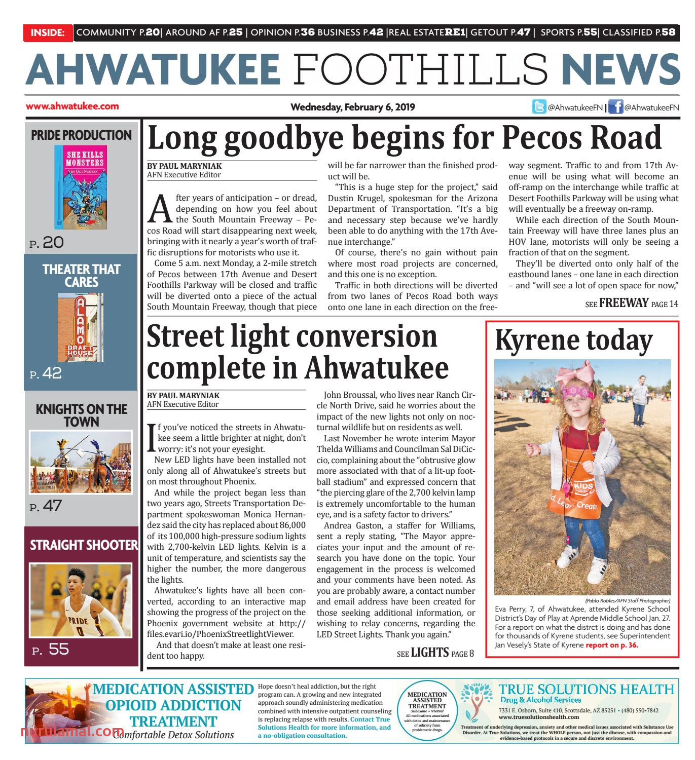Ahwatukee Foothills News February 6 2019 by Times Media