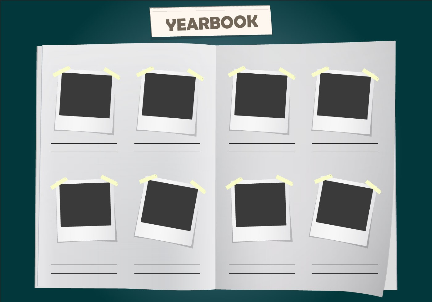 Yearbook Page Templates