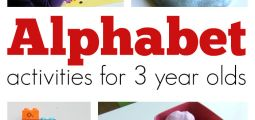 Alphabet Activities for 3 Year Olds No Time for Flash Cards