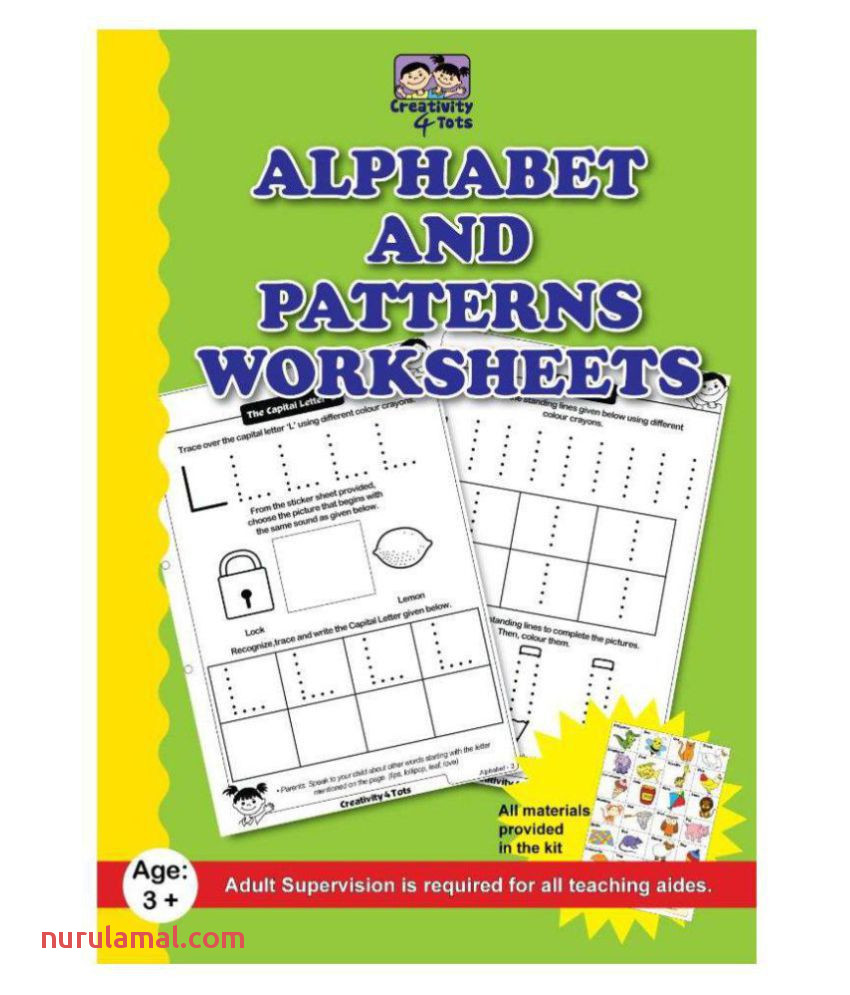 Alphabet and Patterns Worksheet