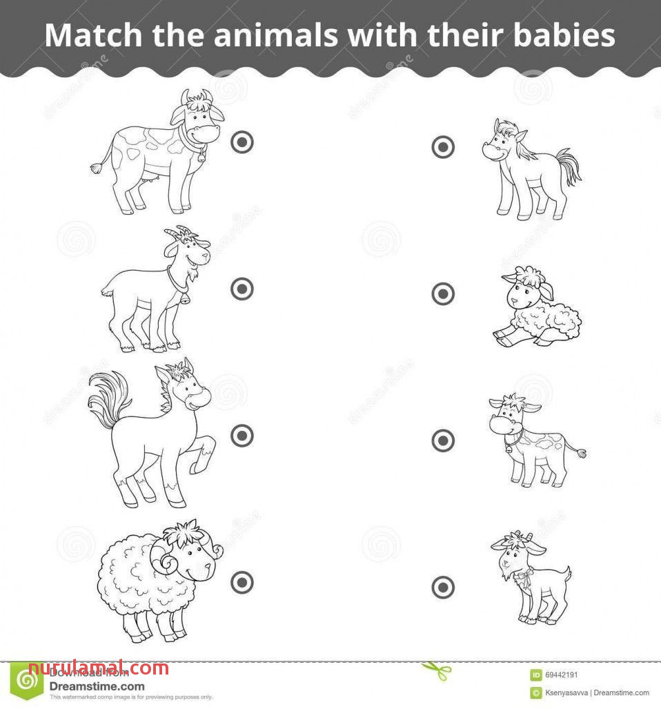 Animal Babies Worksheet Download Baby Animals Names 1of Esl