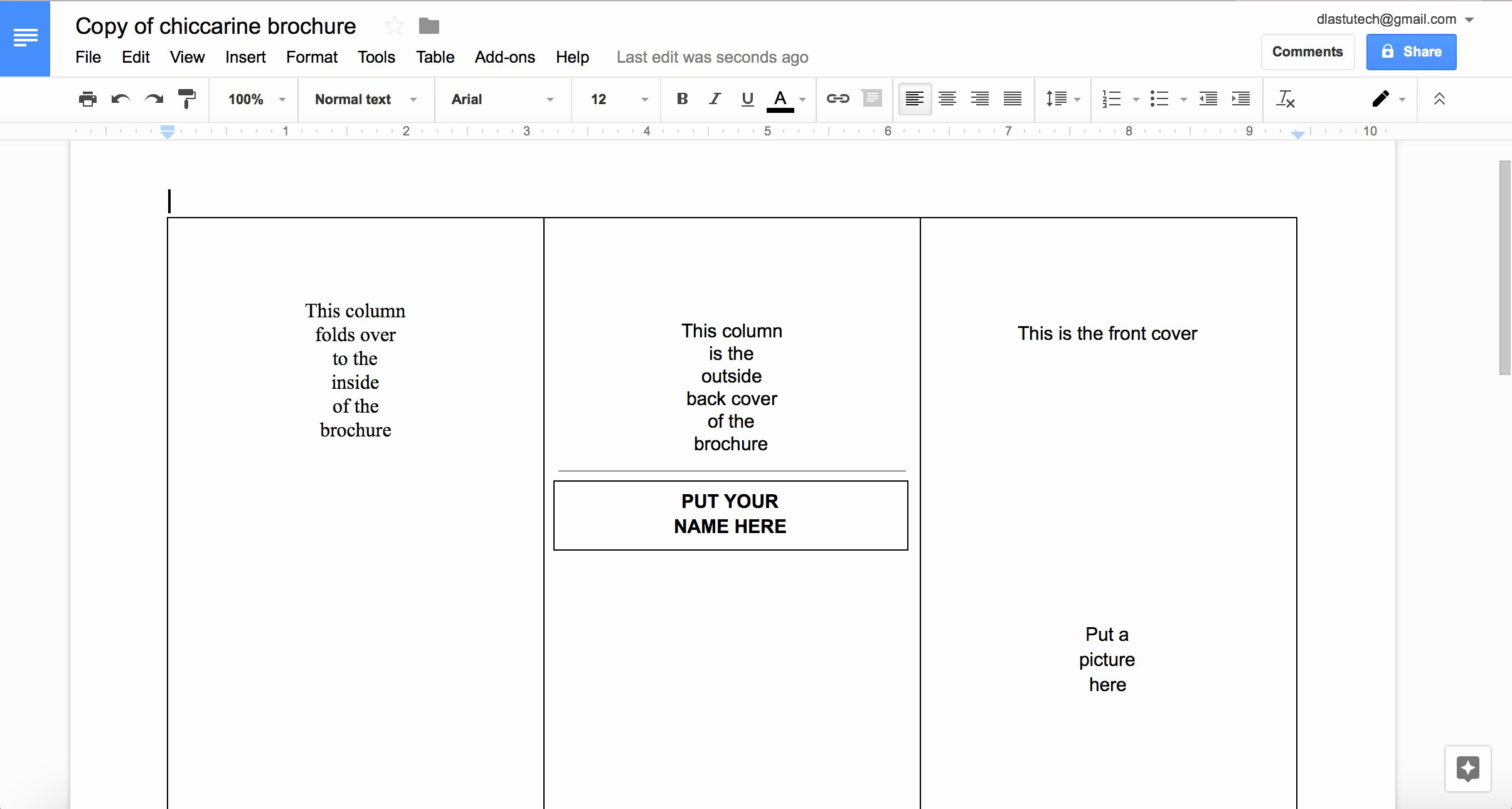Apa Template For Google Docs