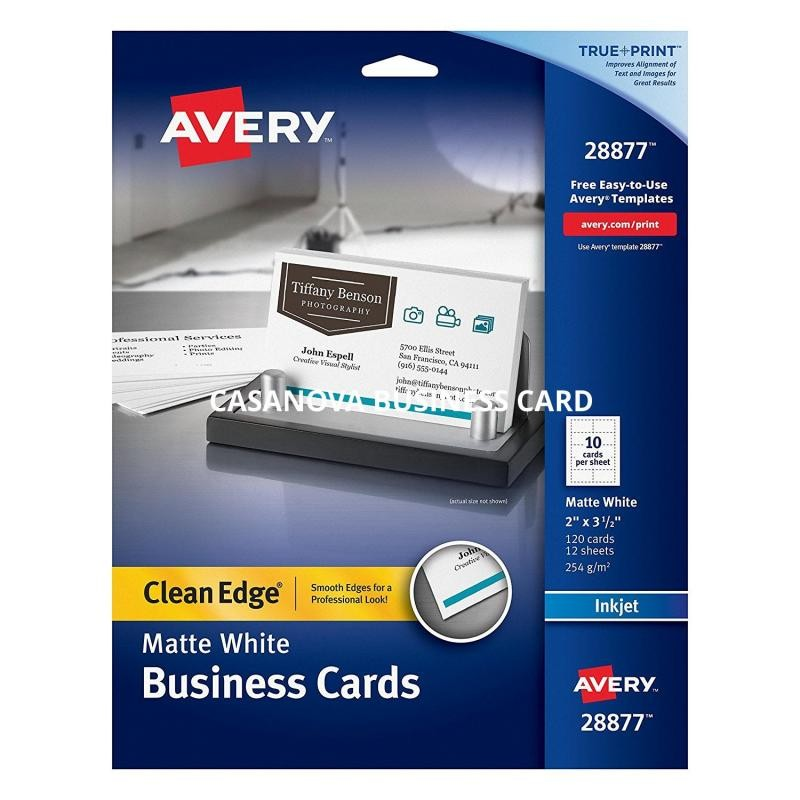 Avery Business Card Template Shatterlion.info