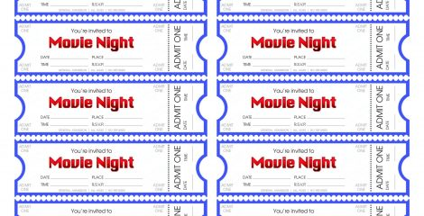 24+ Avery Ticket Template