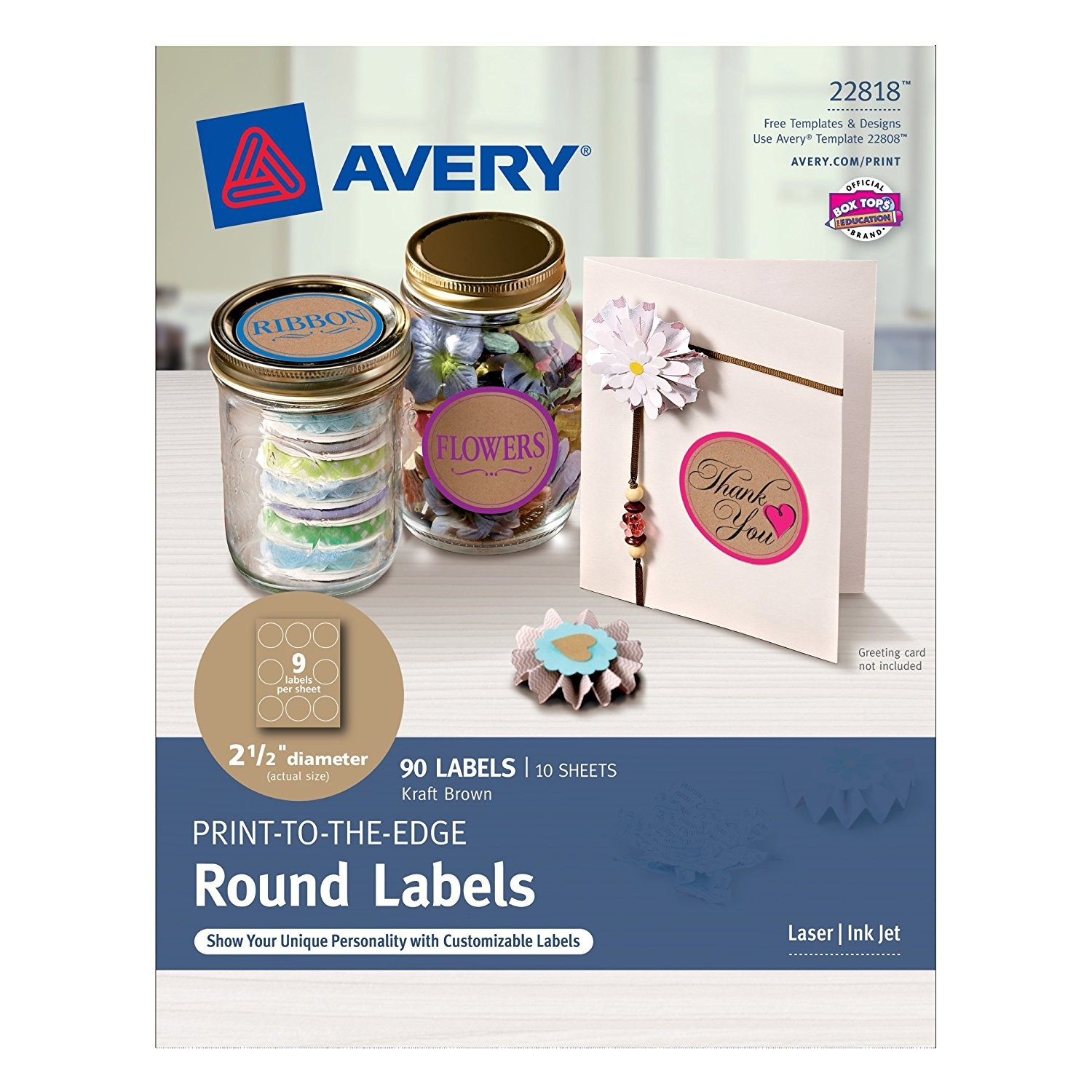 Round Labels Template