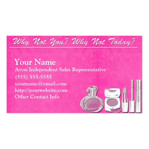 Avon Business Card Zazzle