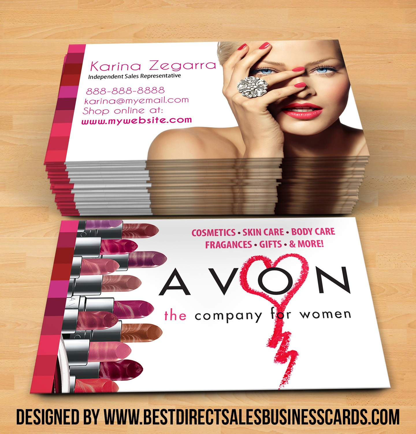 Avon Business Cards Business Card Design Inspiration