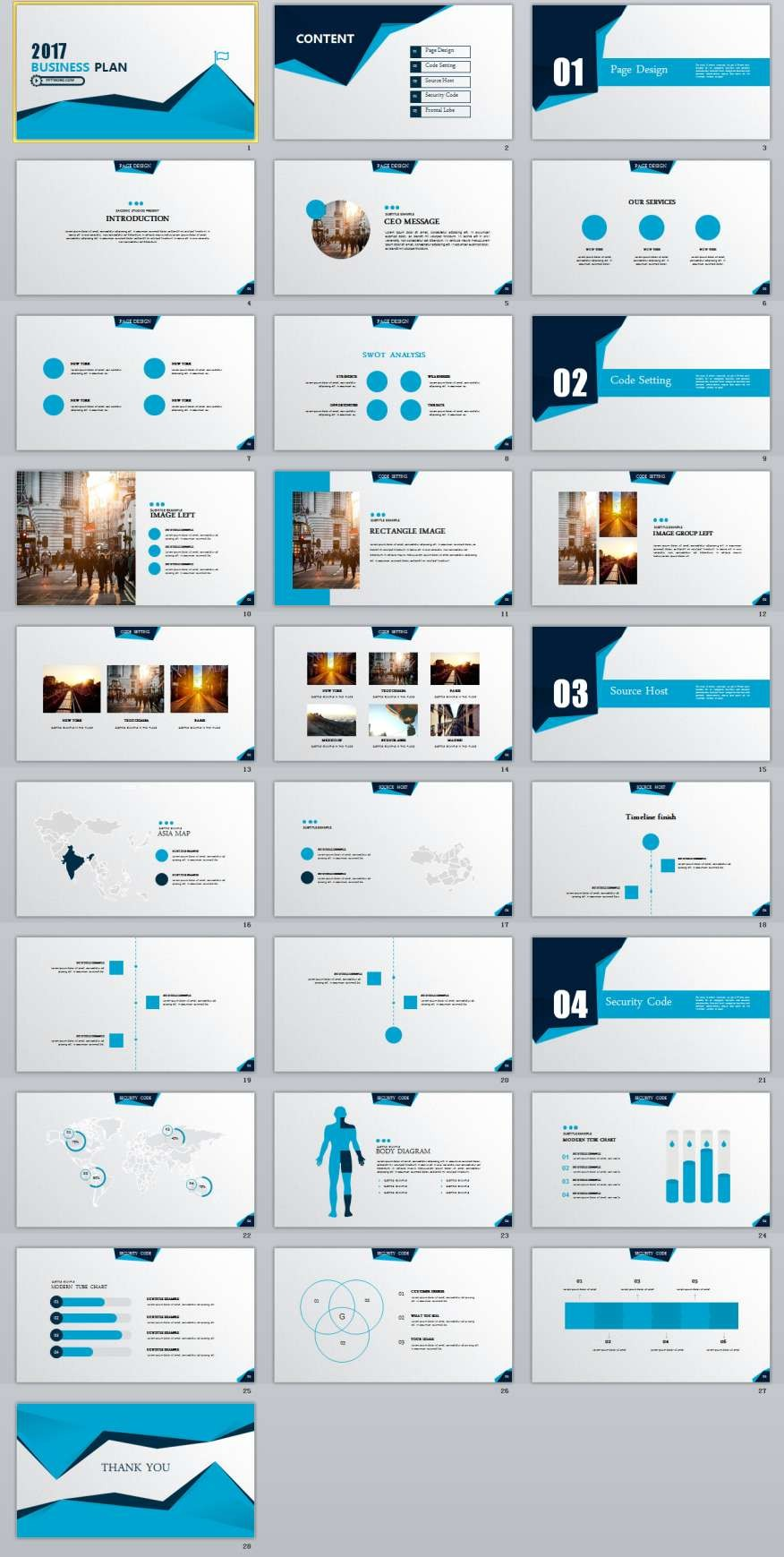 Best Business Plan Powerpoint Templates The Highest