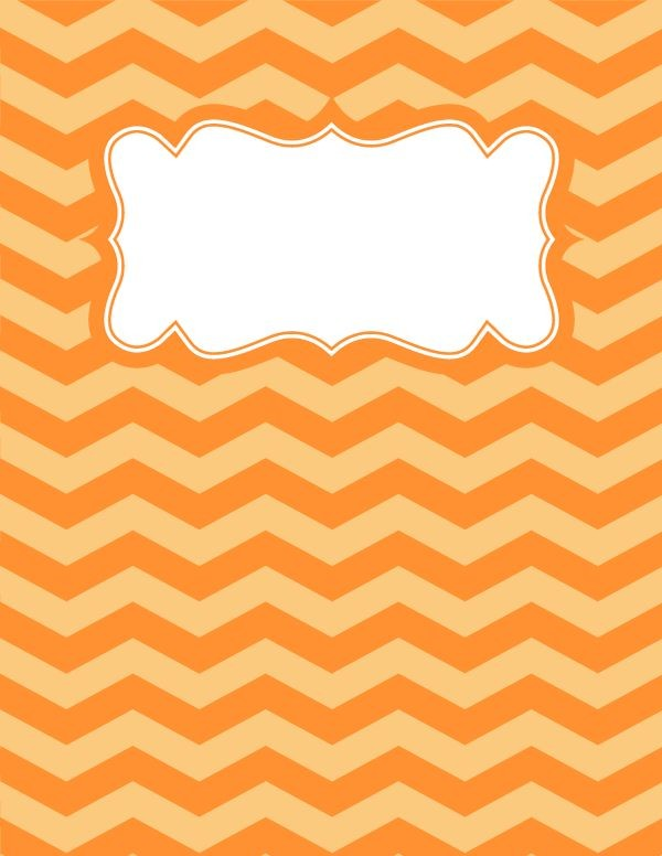 Best Chevron Binder Covers Ideas On Pinterest
