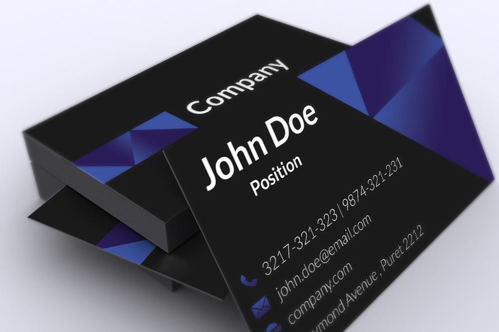 Best Free Psd Business Card Templates Techclient