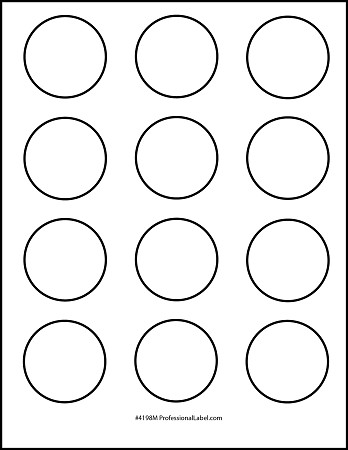 1.5 Inch Circle Template