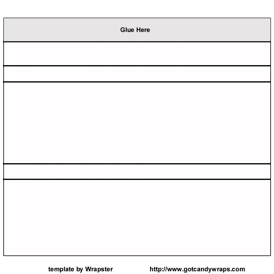 Free Blank Candy Bar Wrapper Template