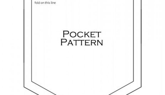 Best Images Of Pocket Template Printable Printable