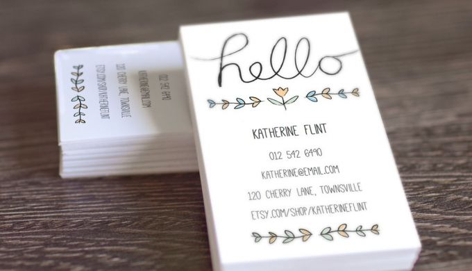 Best Images Of Printable Business Card Template