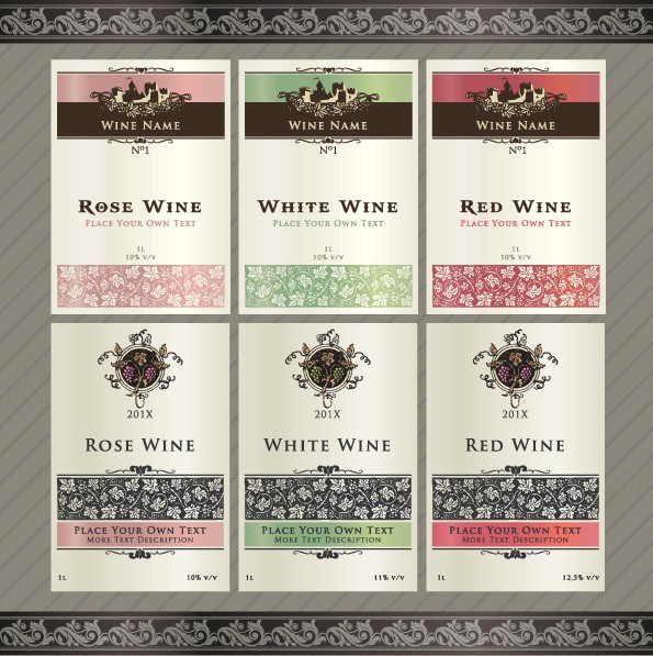 Free Printable Wine Labels Template
