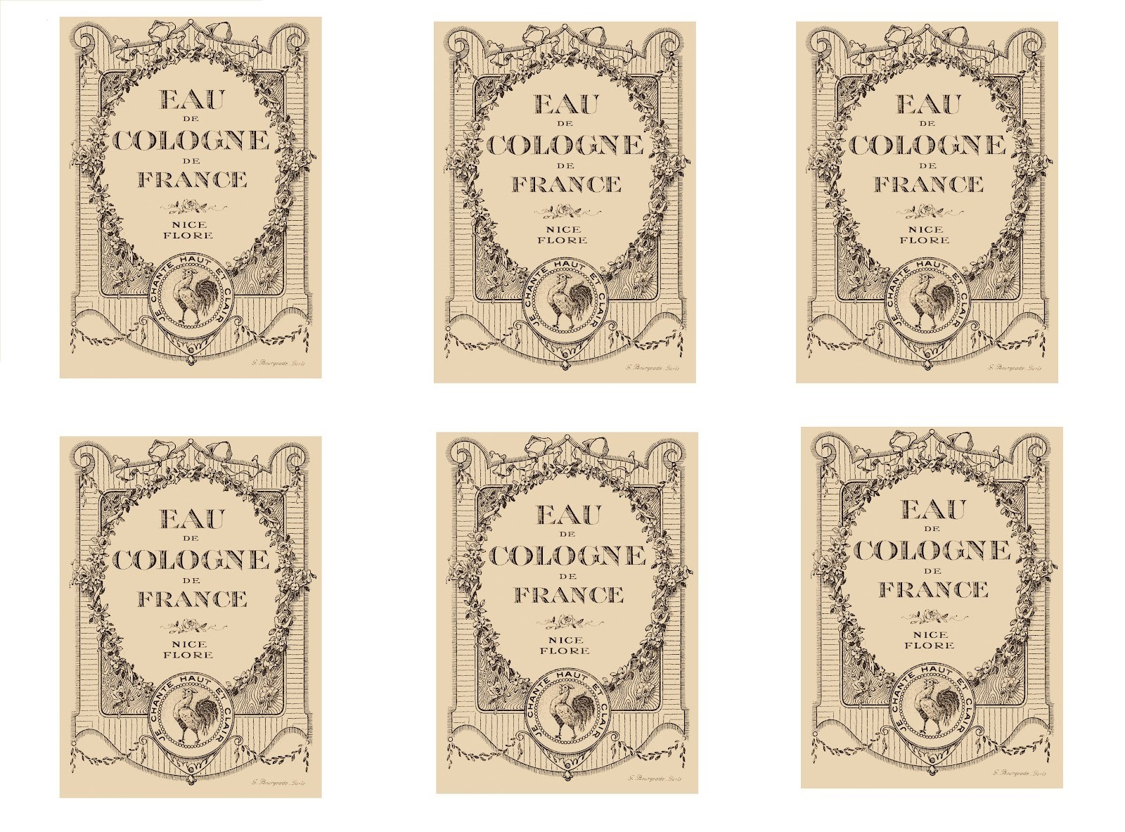 Apothecary Jar Labels Template
