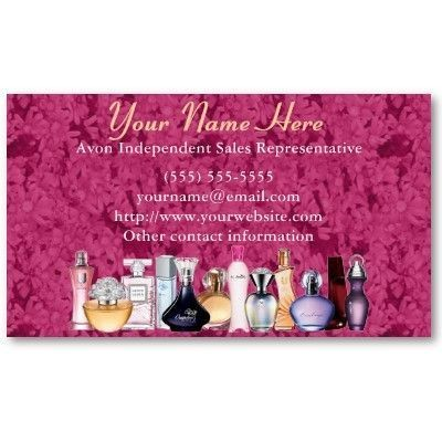 Best Order Avon Business Cards Images On Pinterest