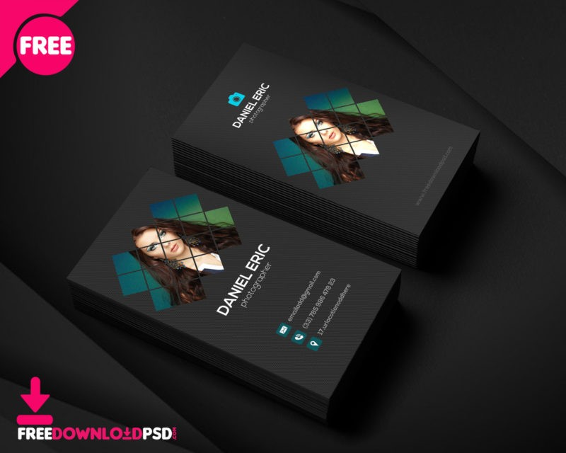 Best Photographer Business Card Freedownloadpsd.com