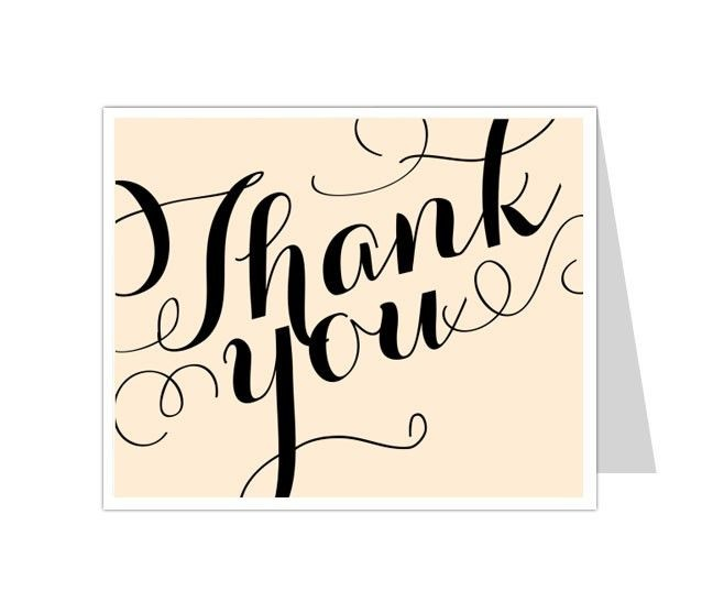 Best Thank You Card Templates Images On Pinterest