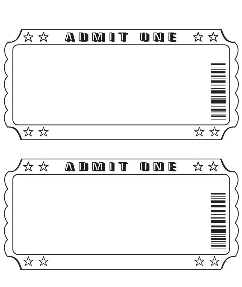 Best Ticket Template Free Ideas On Pinterest Ticket