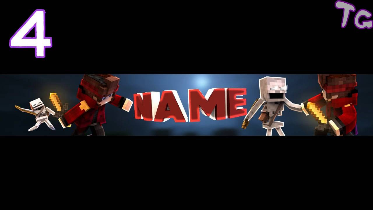 Best Top Minecraft Youtube Banner Templates Youtube