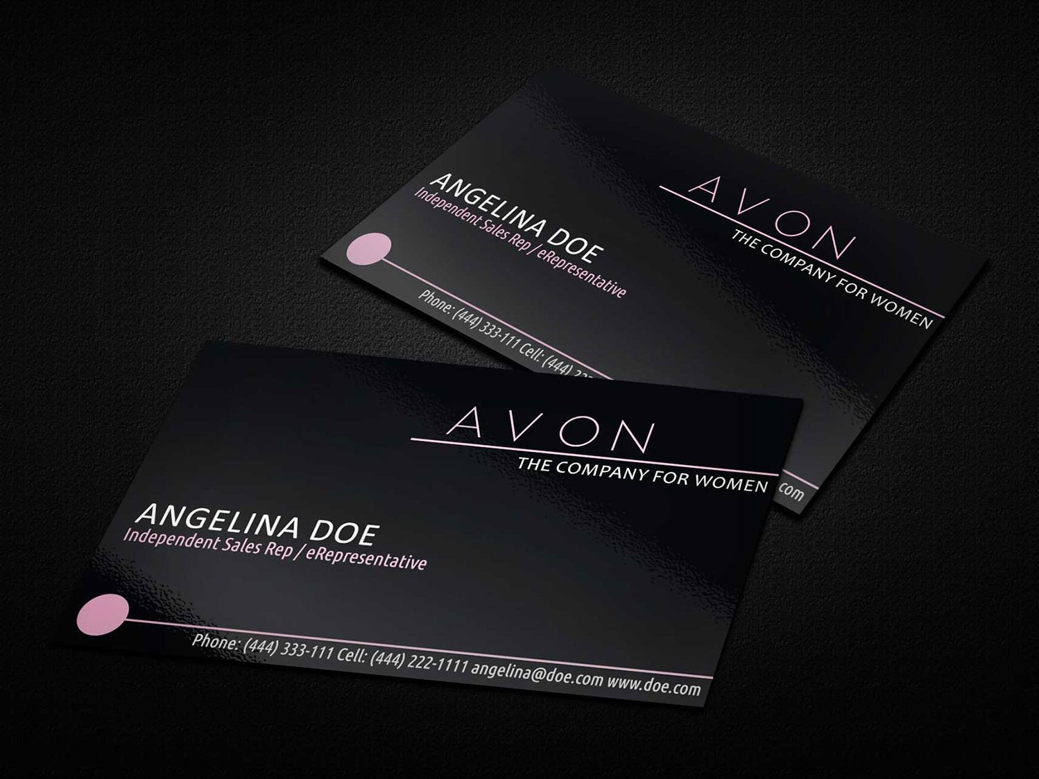 Avon Business Card Template
