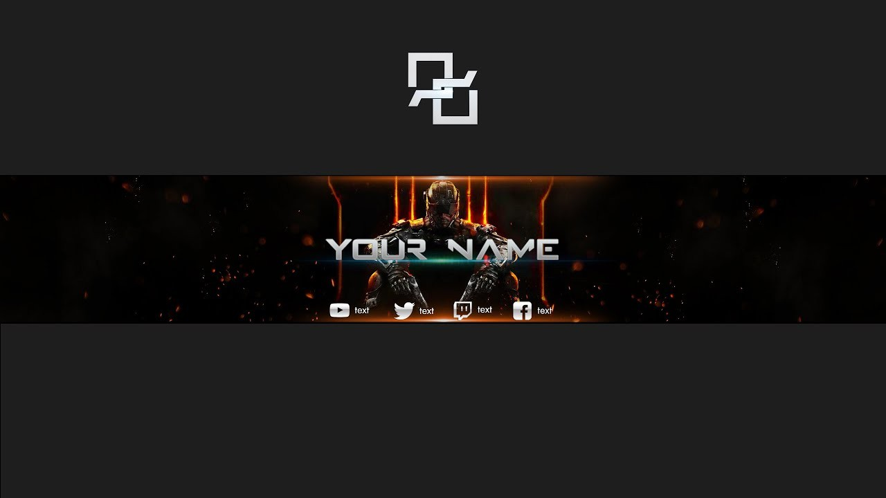 Black Ops Banner Template Direct Download Youtube